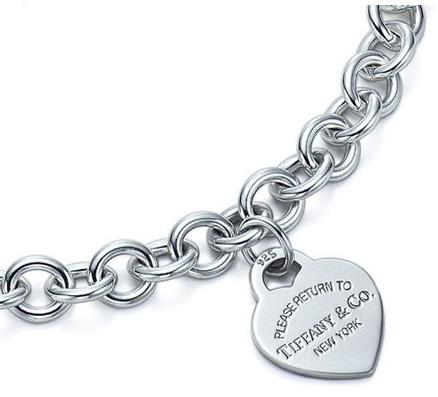 """Return to Tiffany"" Heart Tag Necklace"