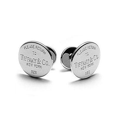 """Return to Tiffany"" Round Cuff Links"
